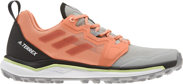 adidas TERREX Agravic Chaussures de trail Femme, grey twoglory amberamber tint